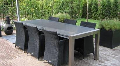 Basalt Tischplatten