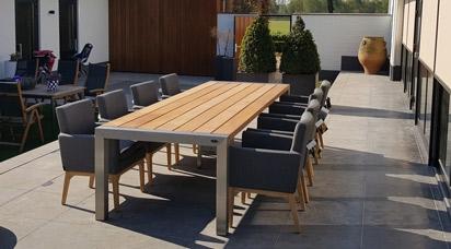 Holz Gartenmöbel-Sets