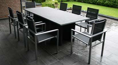 Schiefer Tischplatten