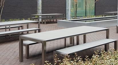 Edelstahl Gartenmöbel-Sets