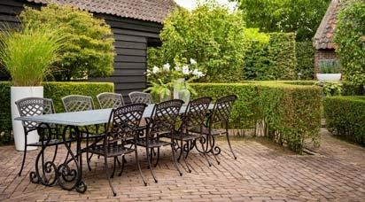 Schmiedeeisen Gartenmöbel-Sets