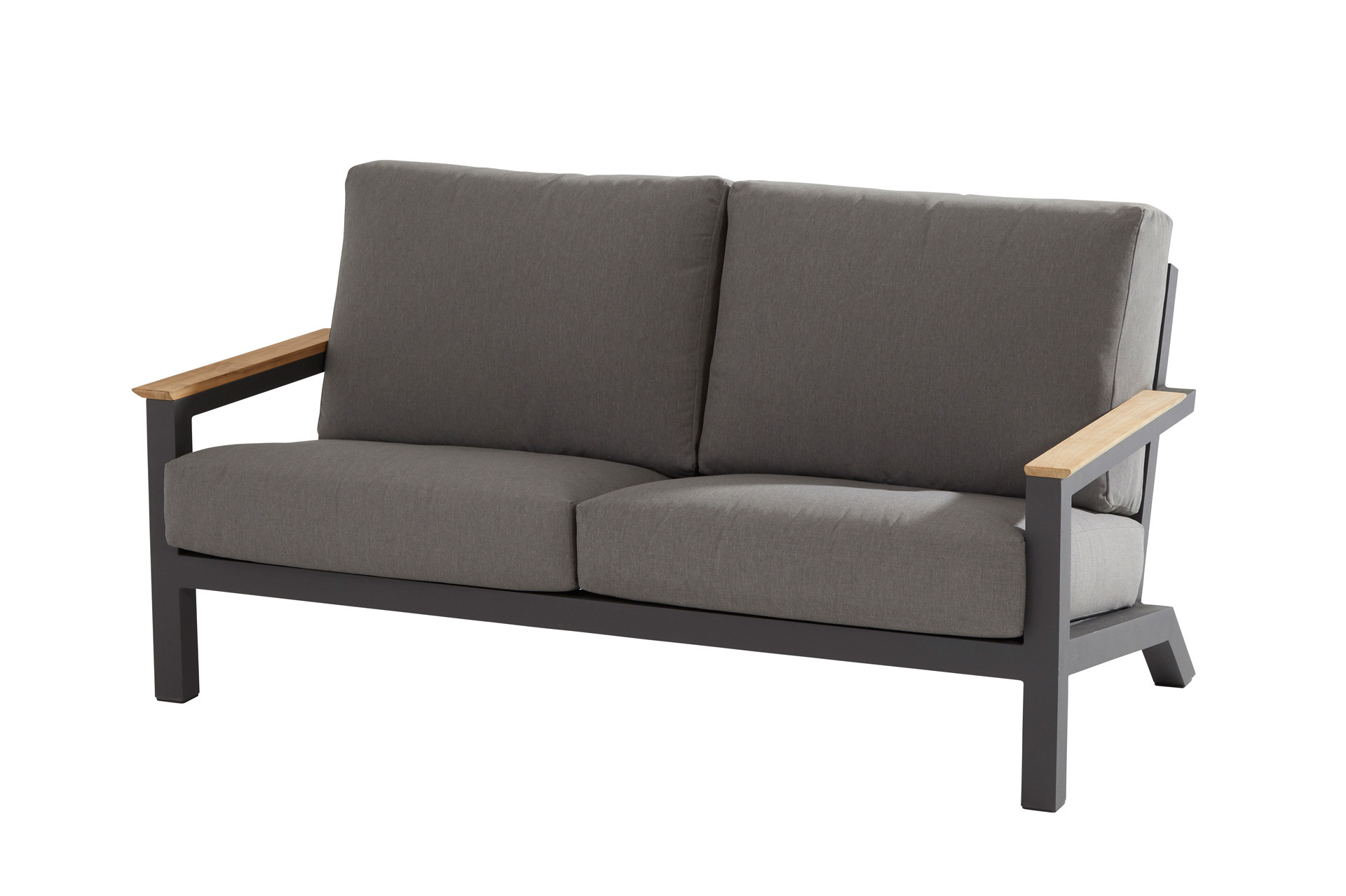 Capitol living bench 2.5 seater with 4 cushions Anthracite