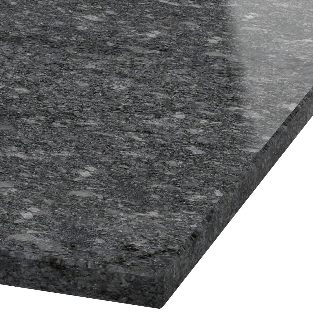 Platte 30mm stark Steel Grey Granit (poliert)