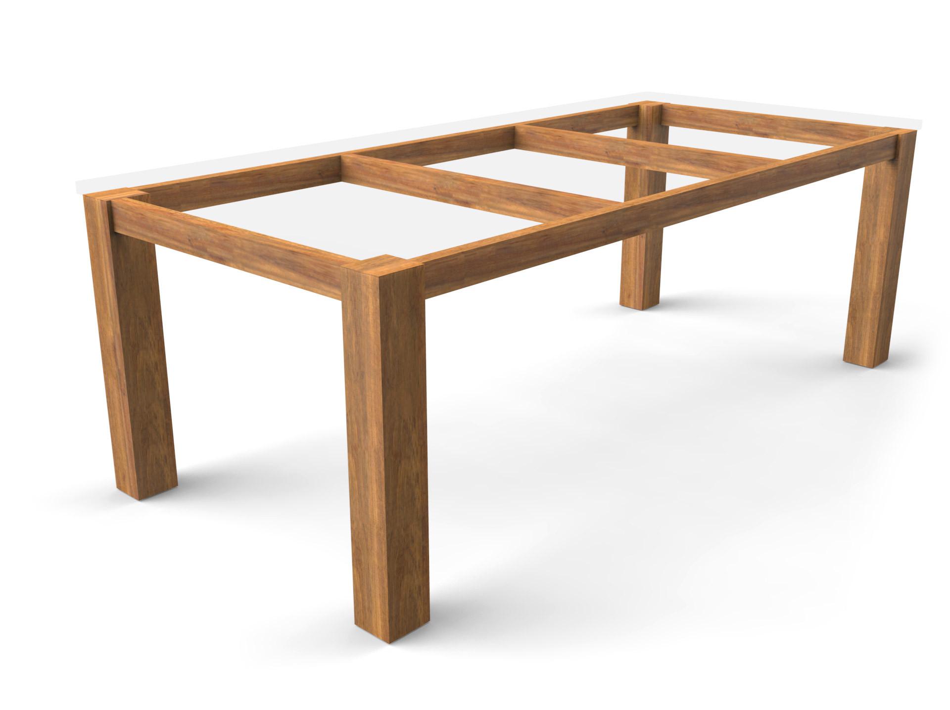 Tischgestell Standard Guariuba Holz