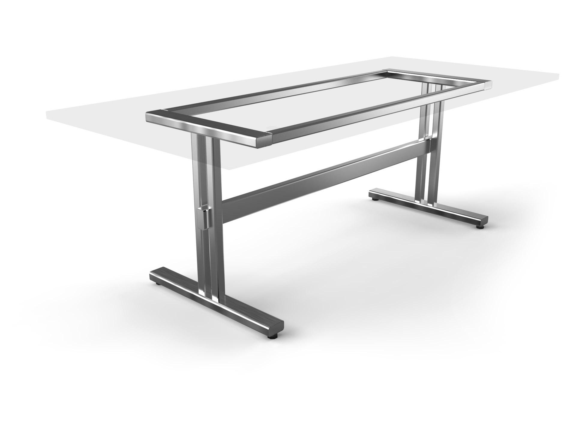 Tischgestell Trento Edelstahl