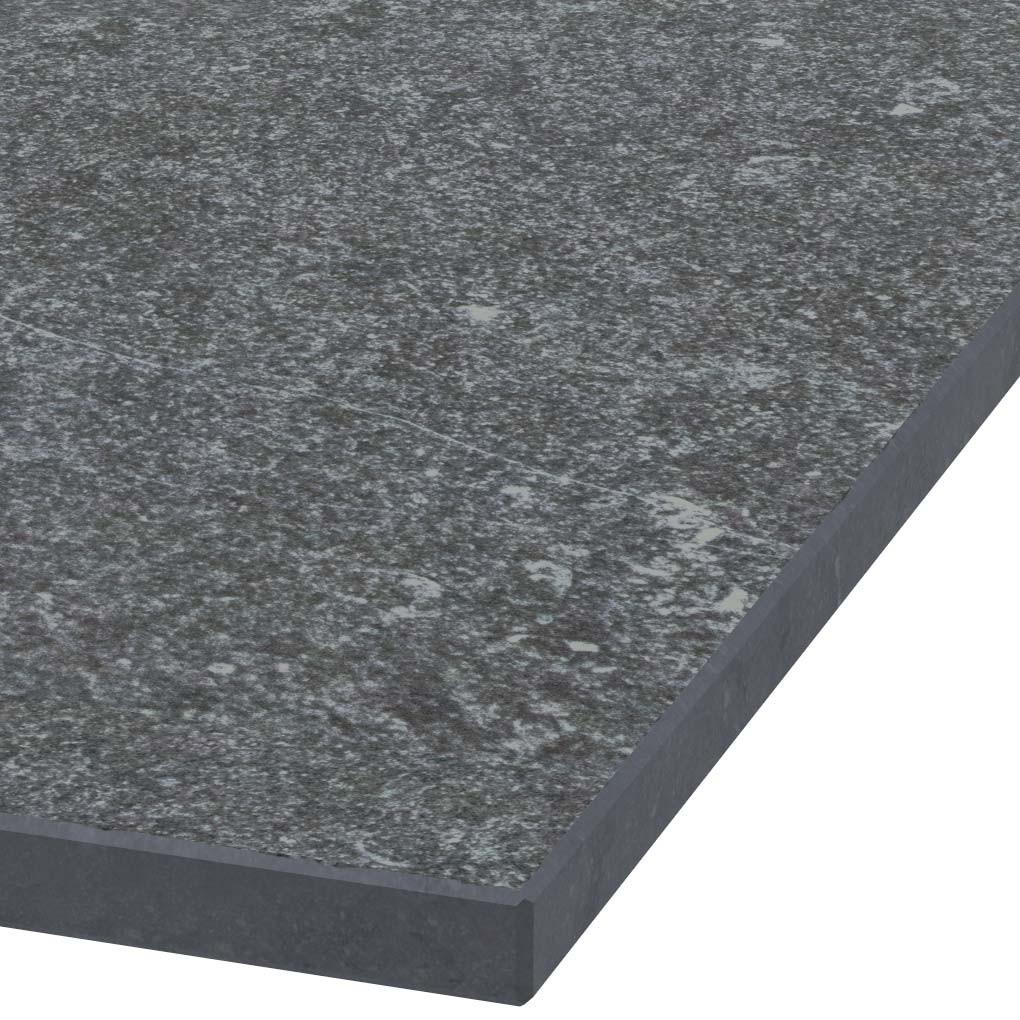 Platte 30mm stark belgischer Kalkstein (geflammt)