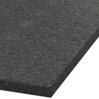 Platte 30mm stark Black Galaxy Granit (leathered)