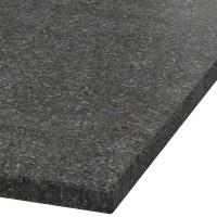Platte 30mm stark Black Pearl Granit (leathered)