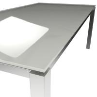 Platte ESG floatglas Silk Grey