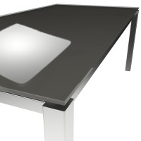 Platte ESG floatglas Quartz Grey