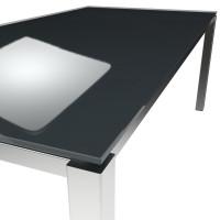 Platte ESG floatglas Anthracite Grey
