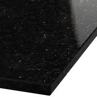 Platte 30mm stark Black Galaxy Granit (poliert)