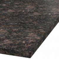 Platte 30mm stark Tan Brown Granit (leathered)