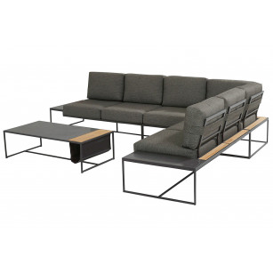 Patio Lounge Set 5-Teilig