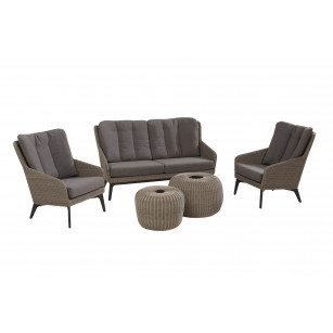 Luxor Lounge Set 5-Teilig