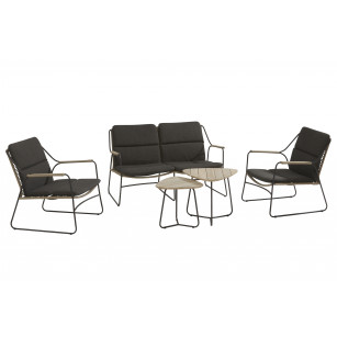 Scandic Lounge Set 4-Teilig
