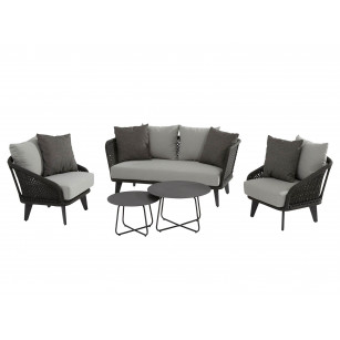 Belize Lounge Set 5-Teilig
