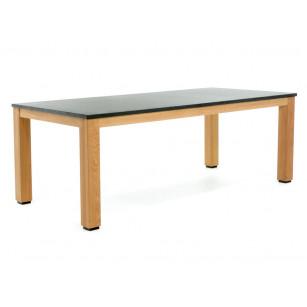 Holztischgestell mit Granitplatte