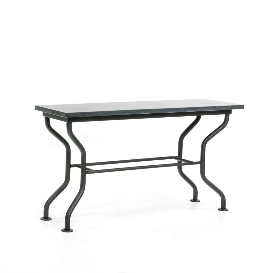 Wandtisch mit Basalt Platte (gesüßt)