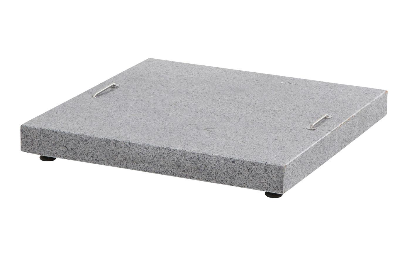 Siesta granite base Anthracite 90 kgs.