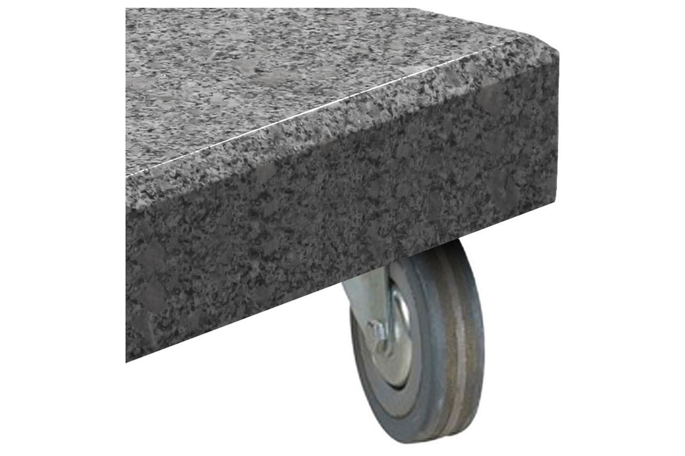 Wheels for granite base 125 kgs. Set of 4.