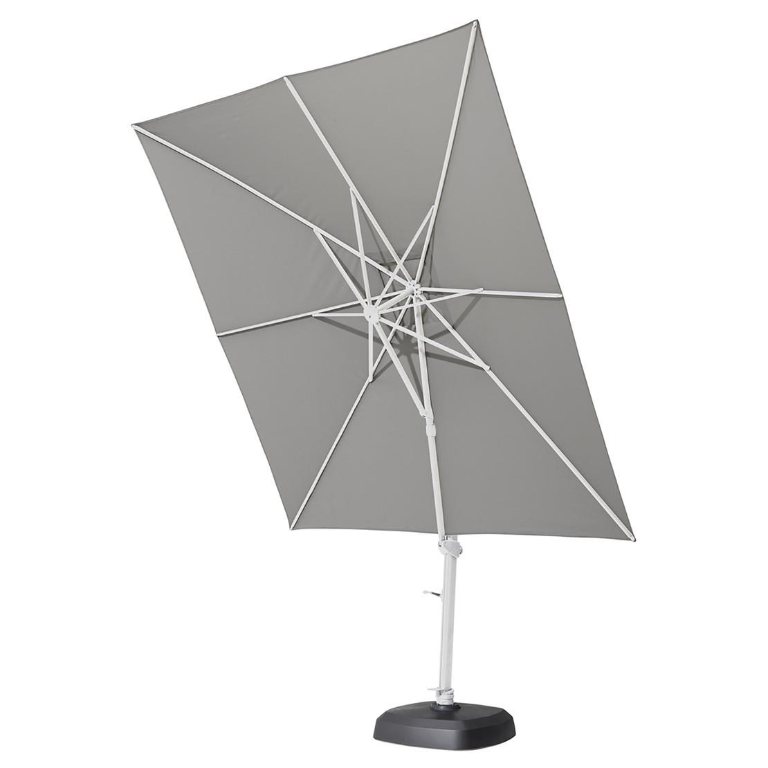 Siesta 300 x 300 cm White frame Soft Grey