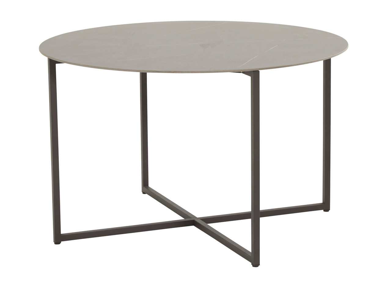 Quatro dining table 120 cm Anthracite marble