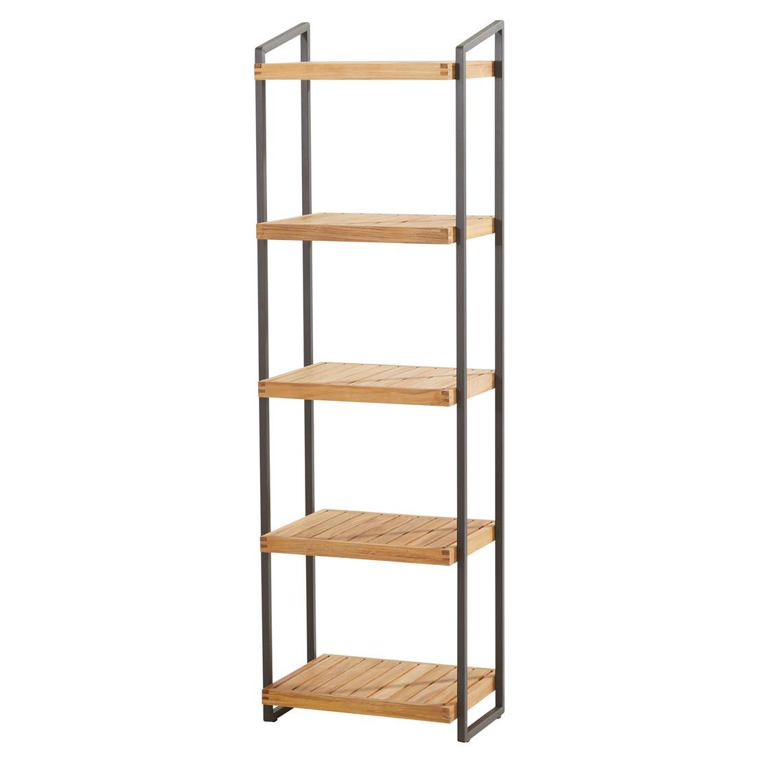 Rack with 5 shelves 50x40x175cm