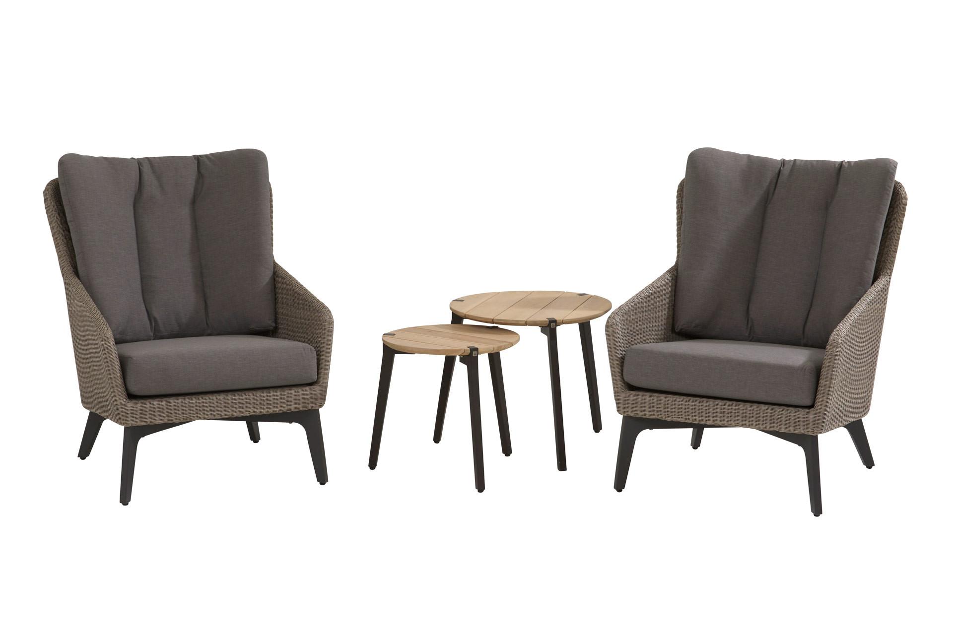 Luxor Lounge Set 4-Teilig