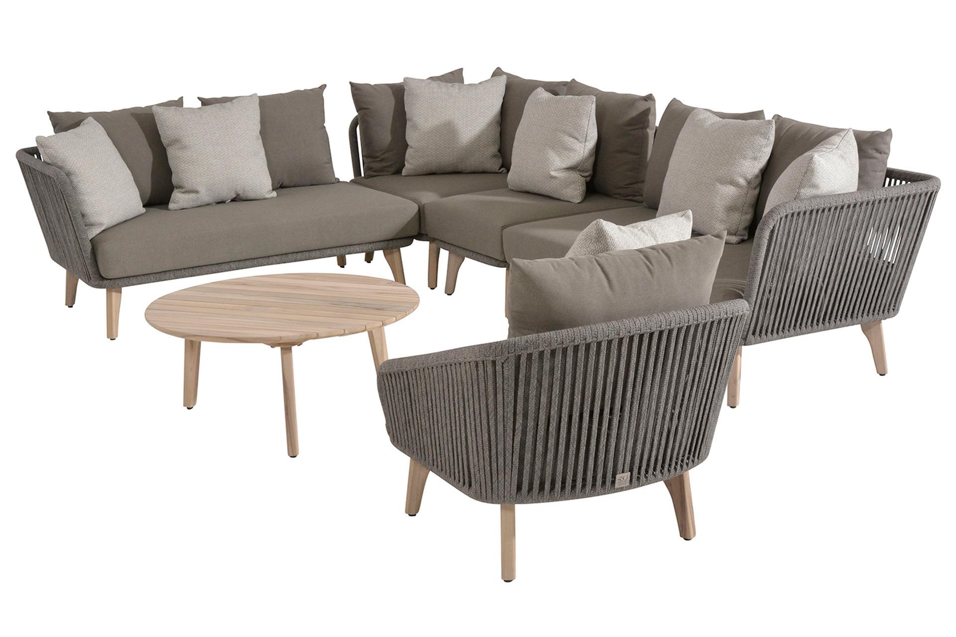 Santander Lounge Set 6-Teilig