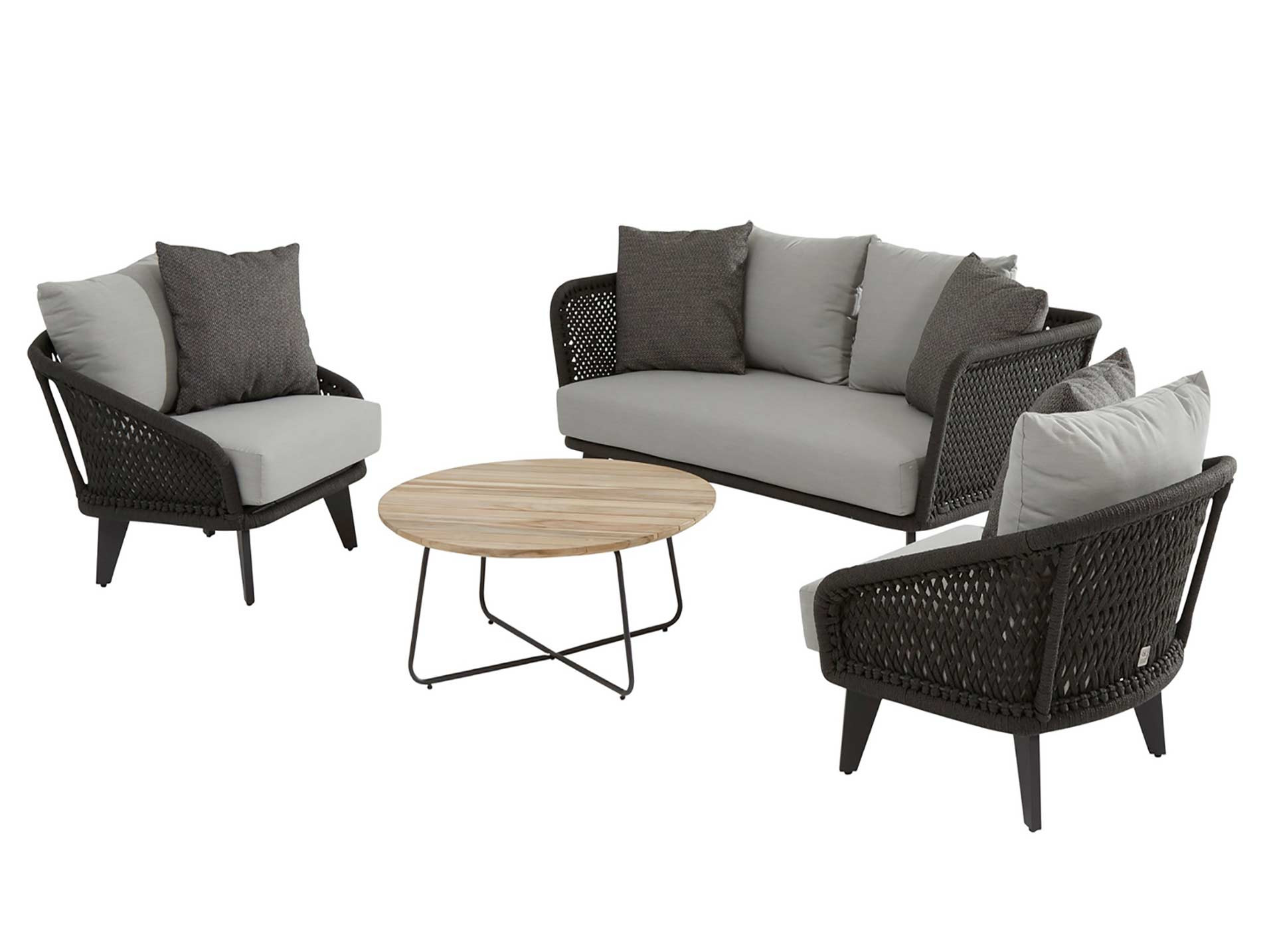 Belize Lounge Set 4-Teilig