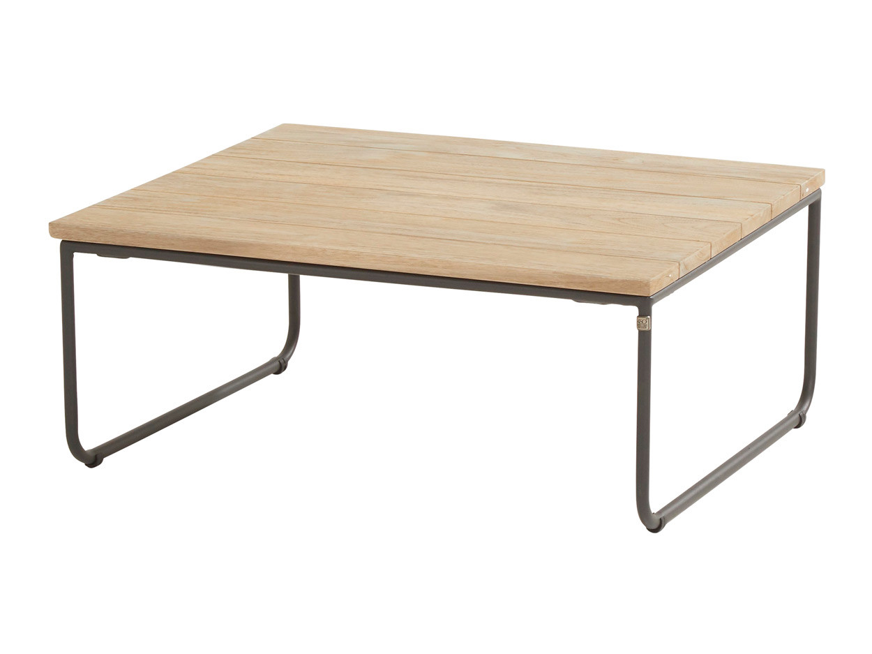 Axel coffee table teak square 80 x 80 cm (H30)