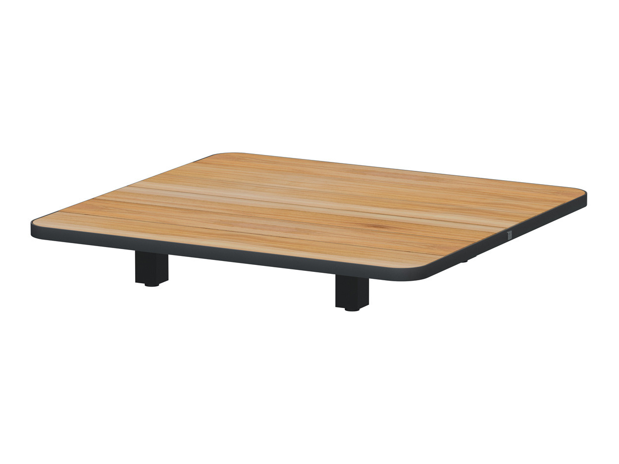 Arcade floating coffee table 90 x 90 x 14 cm