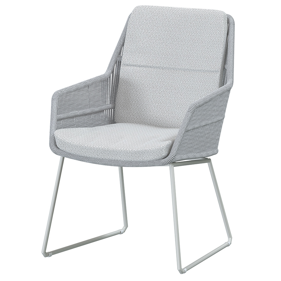 Valencia dining chair Frozen with 2 cushions