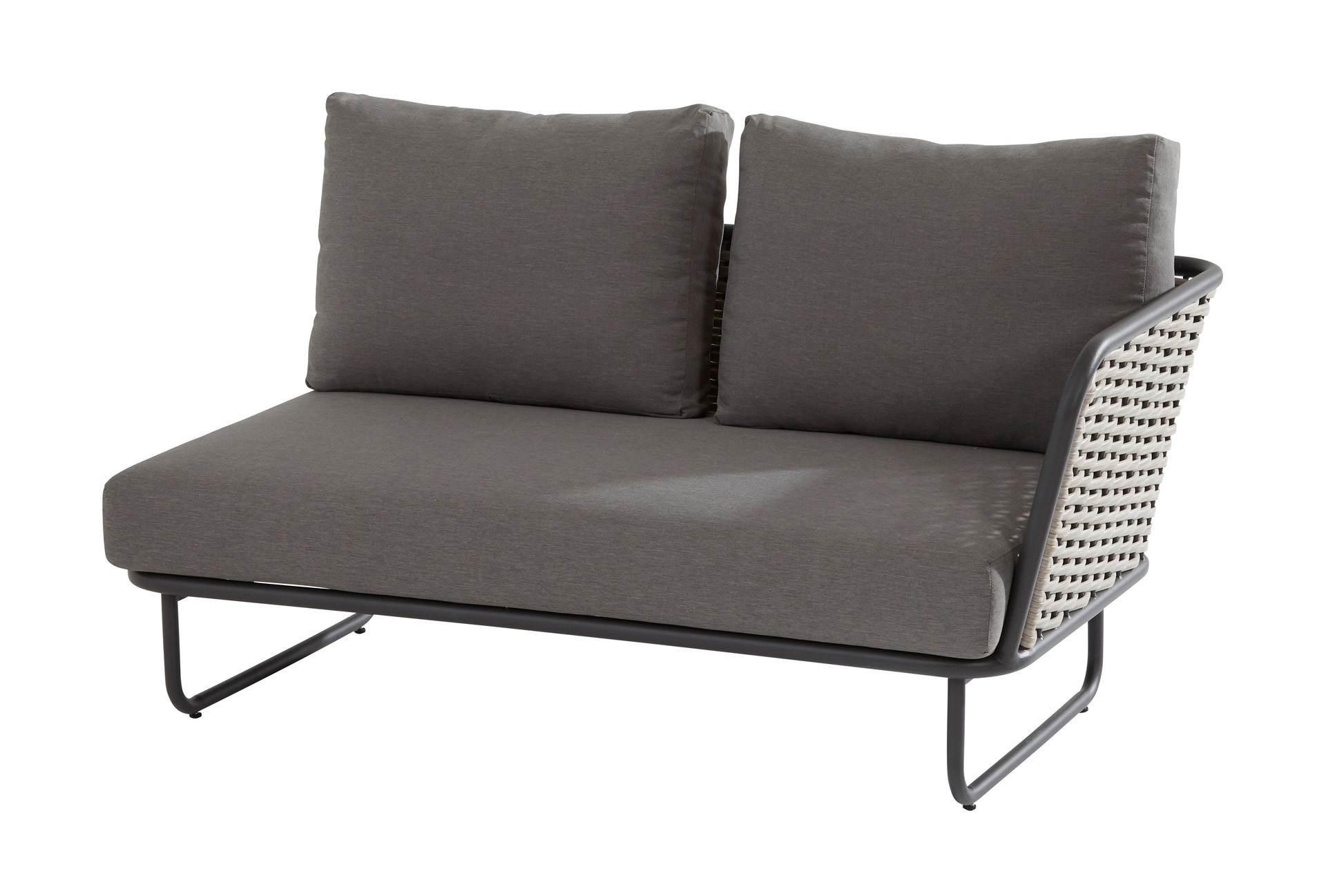 Bo 2 Seater left arm with 3 cushions