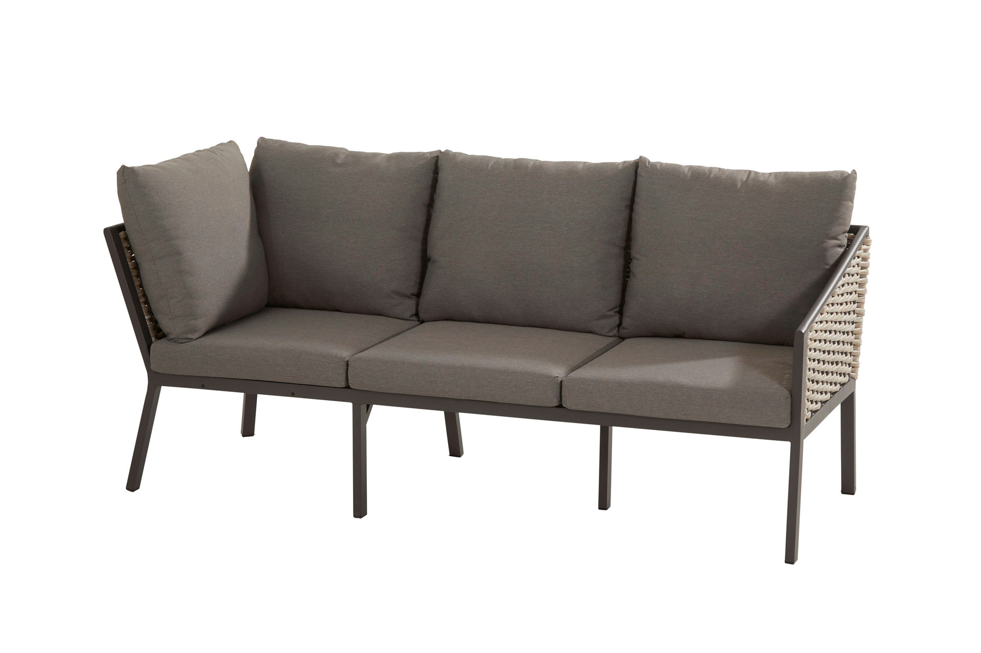 Bo cosy dining 3 seater 2 arms and 7 cushions