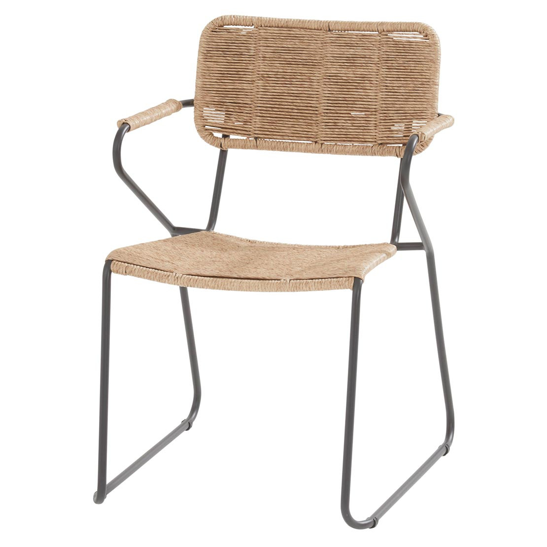 Swing stacking chair Natural