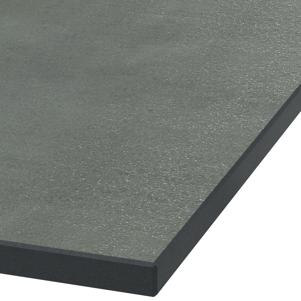 Platte 30mm stark Absolute Black Granit (geflammt)