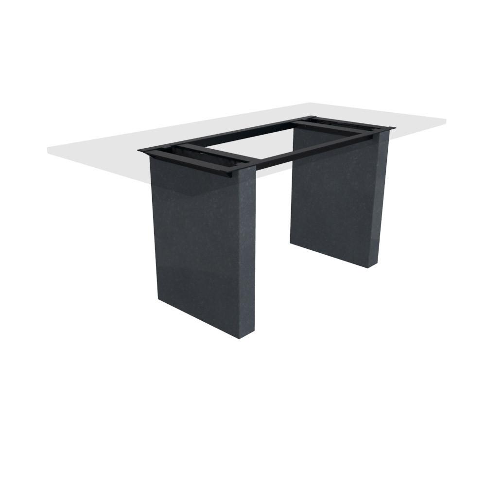 Tischgestell Cartho Basalt (matt) 100