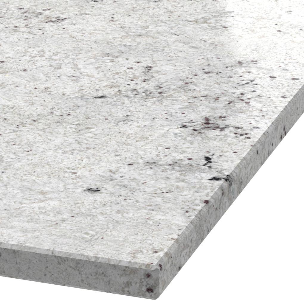 Platte 30mm stark Colonial White Granit (poliert)