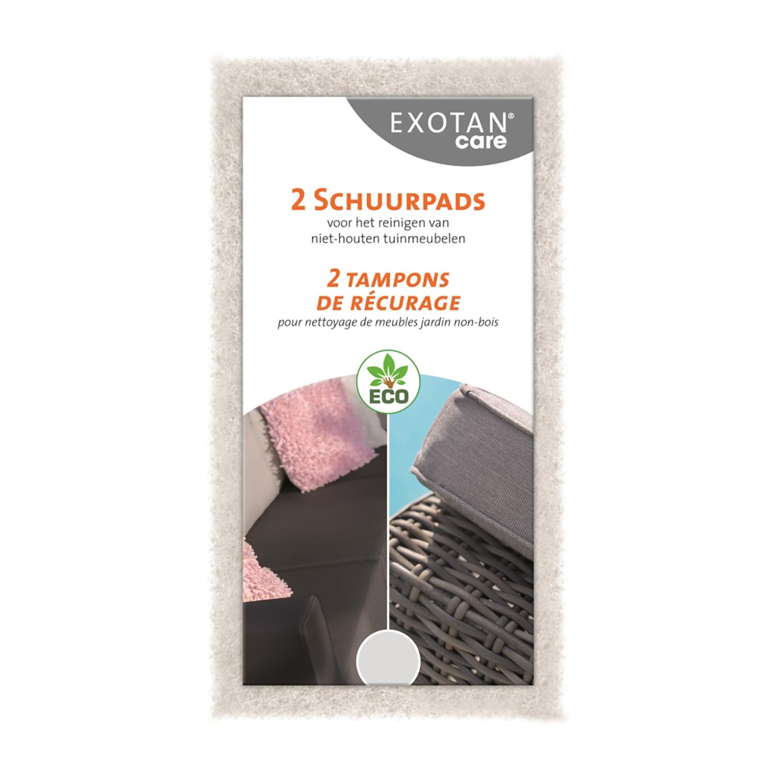 Exotan Care Scrub Pads (2 Stück)