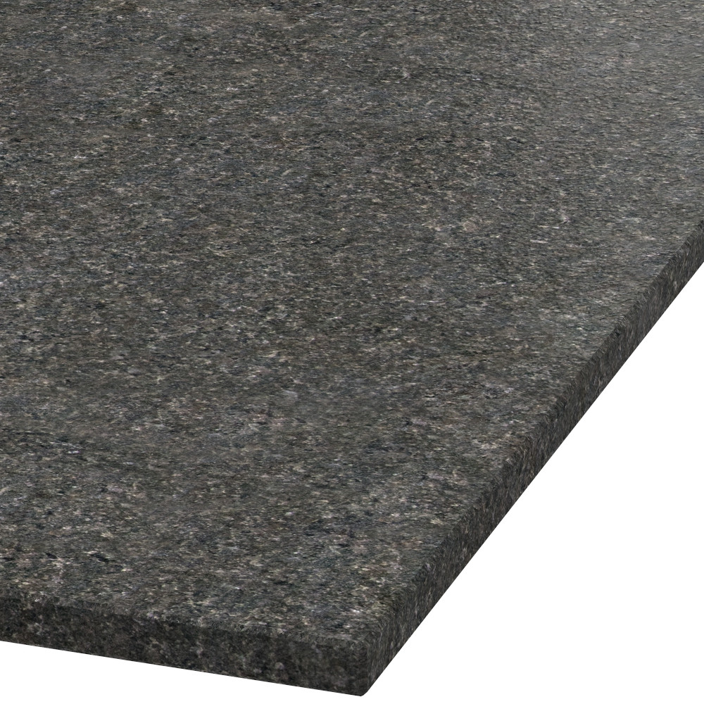 Platte 20mm stark Black Pearl Granit (leathered)