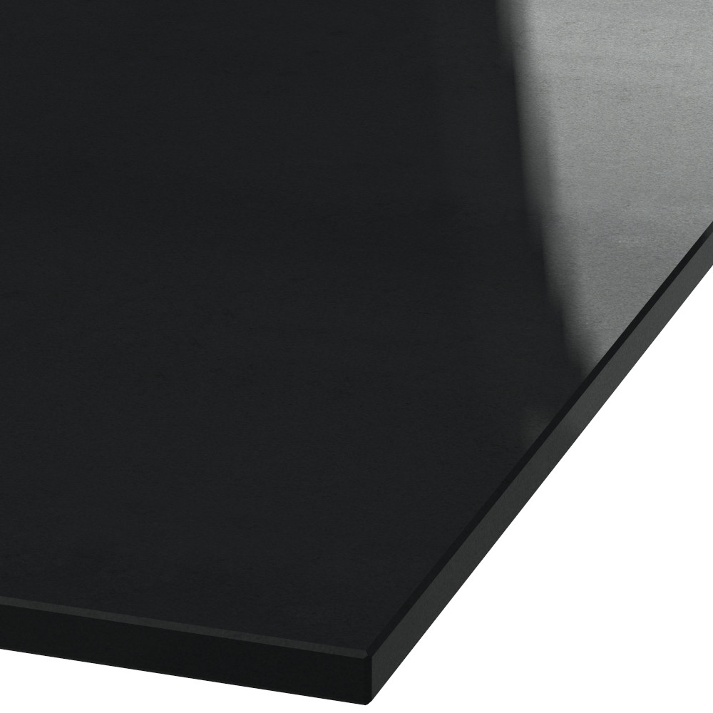 Platte 20mm stark Absolute Black Granit (poliert)