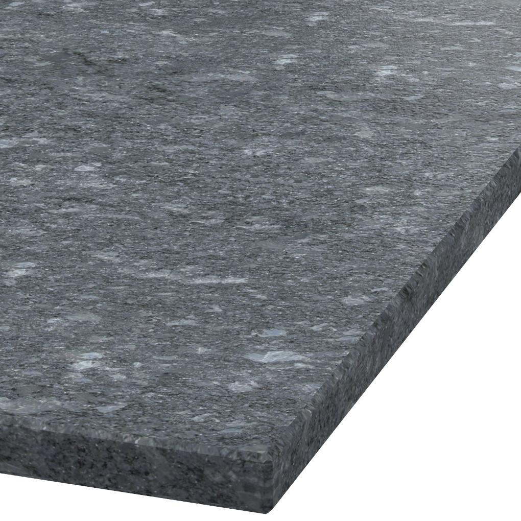 Platte 30mm stark Steel Grey Granit (leathered)