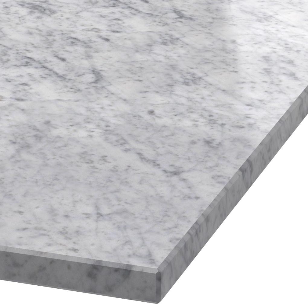 Platte 30mm stark Bianco Carrara C Marmor (poliert)