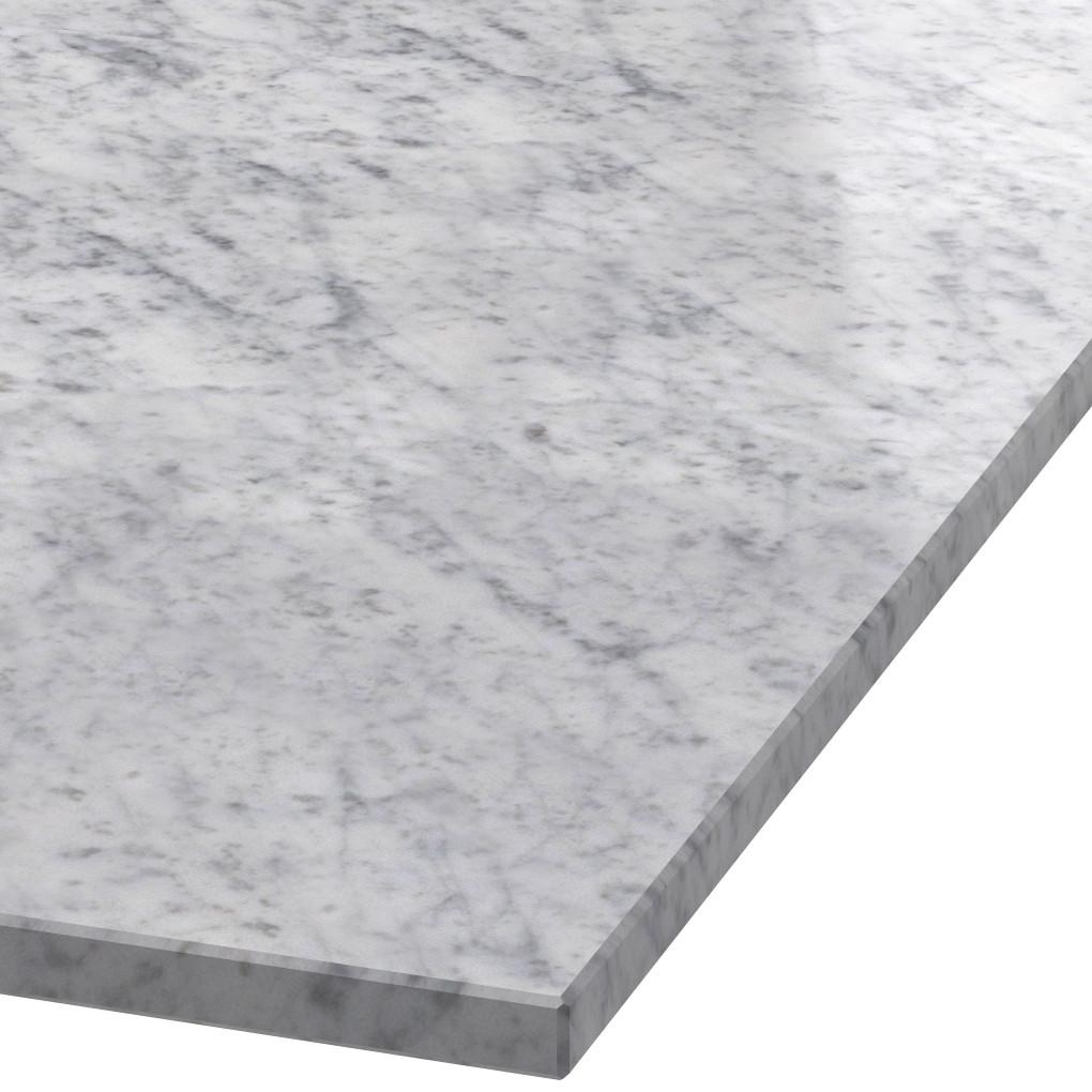 Platte 20mm stark Bianco Carrara C Marmor (poliert)