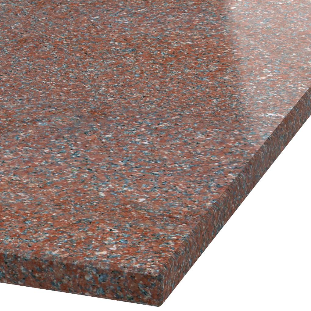 Platte 30mm stark Ruby Red Granit (poliert)