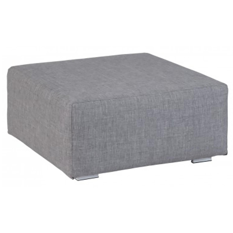 Kubbano ash grey Fußbank