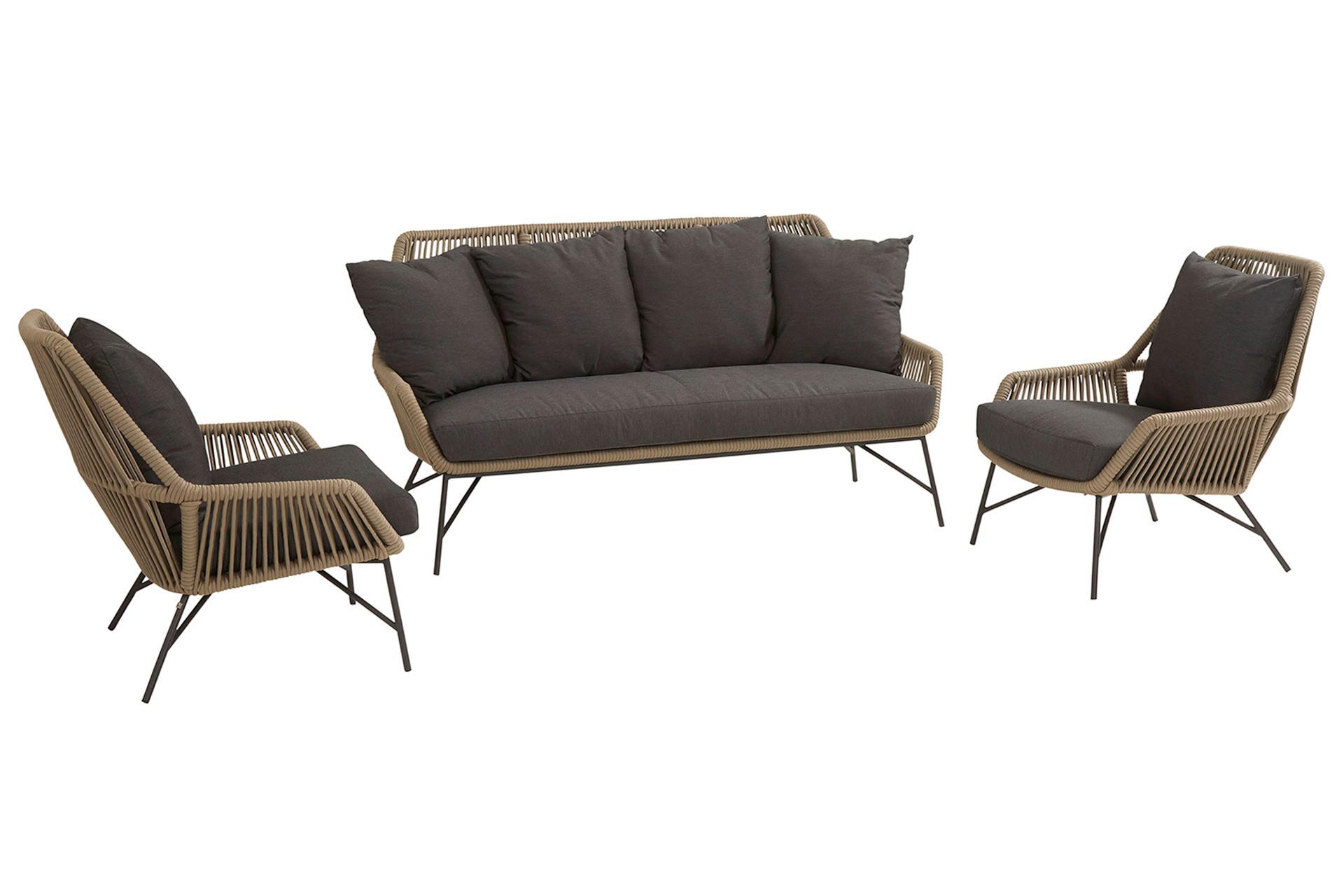 Ramblas Lounge Set 3-Teilig