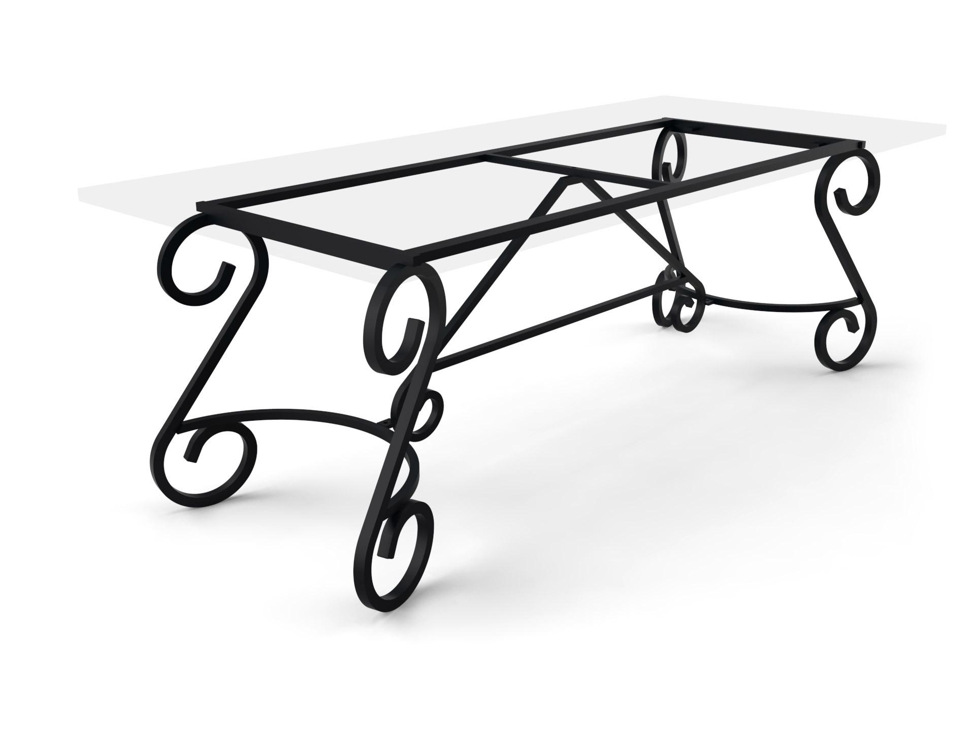 Tischgestell Bordeaux